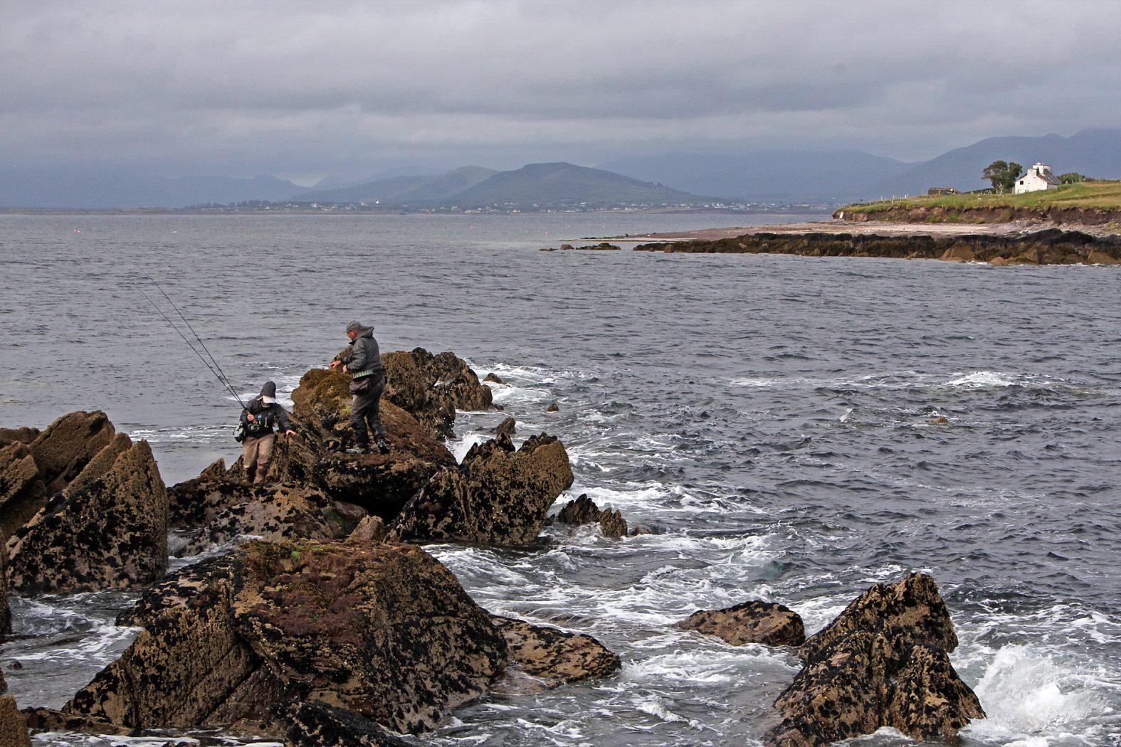Angelplatz zum Pollackangeln vom Ufer