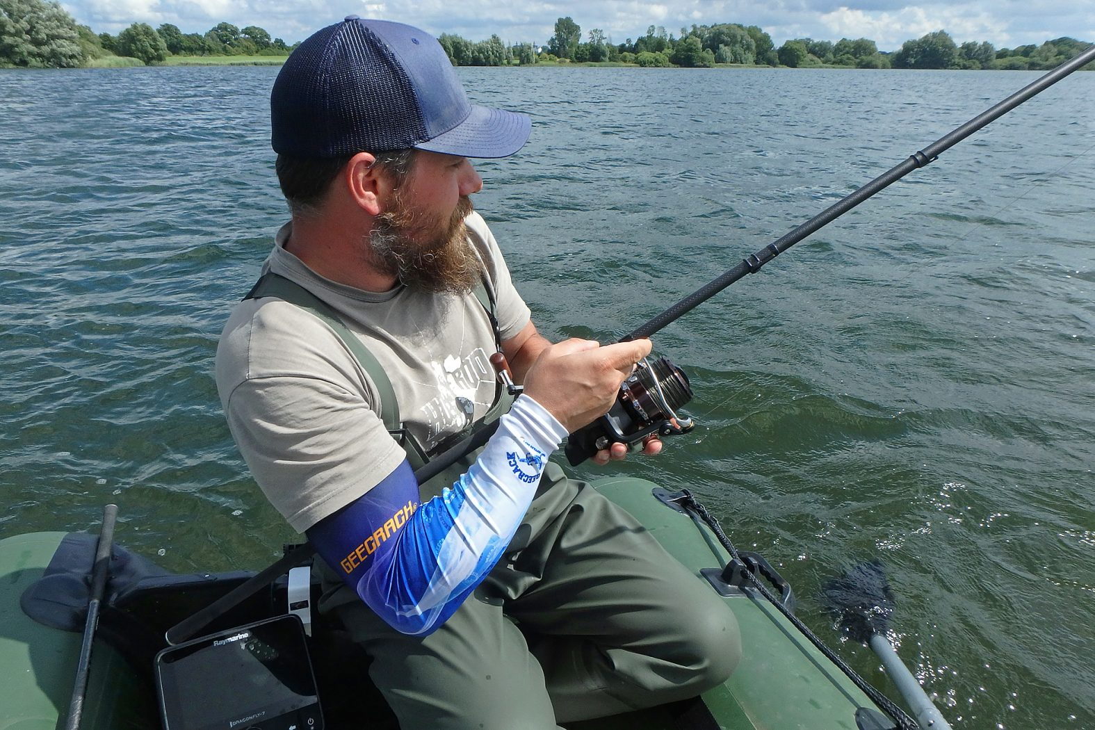 Karpfenruten zum Angeln vom Boot