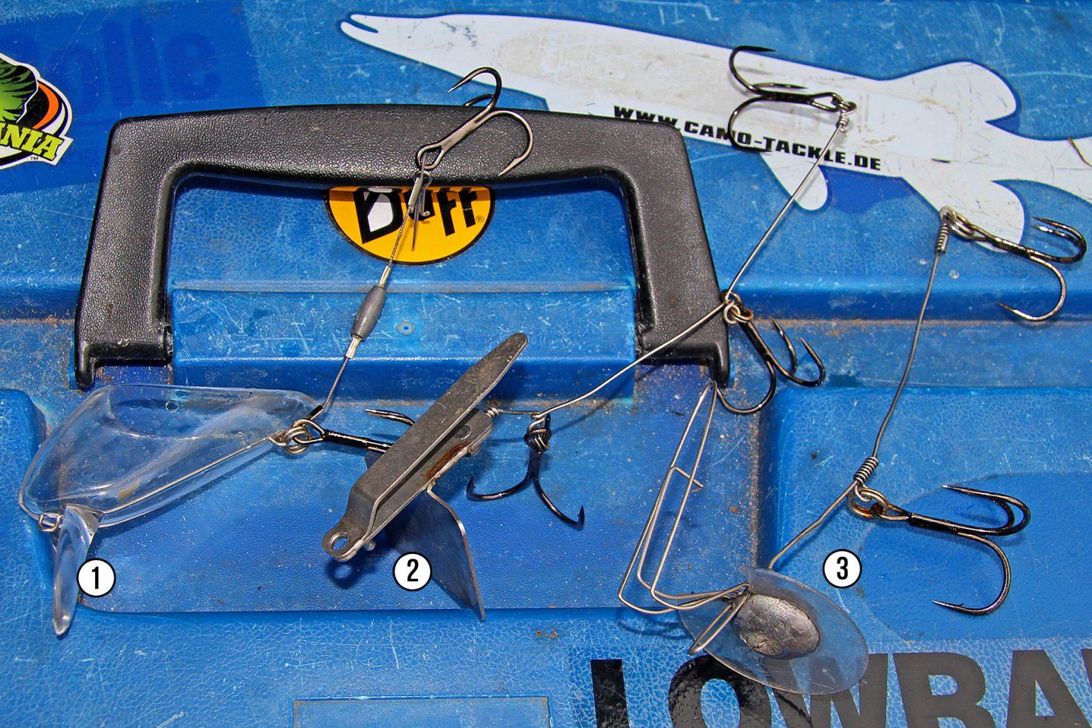 Schleppsysteme für Köderfisch