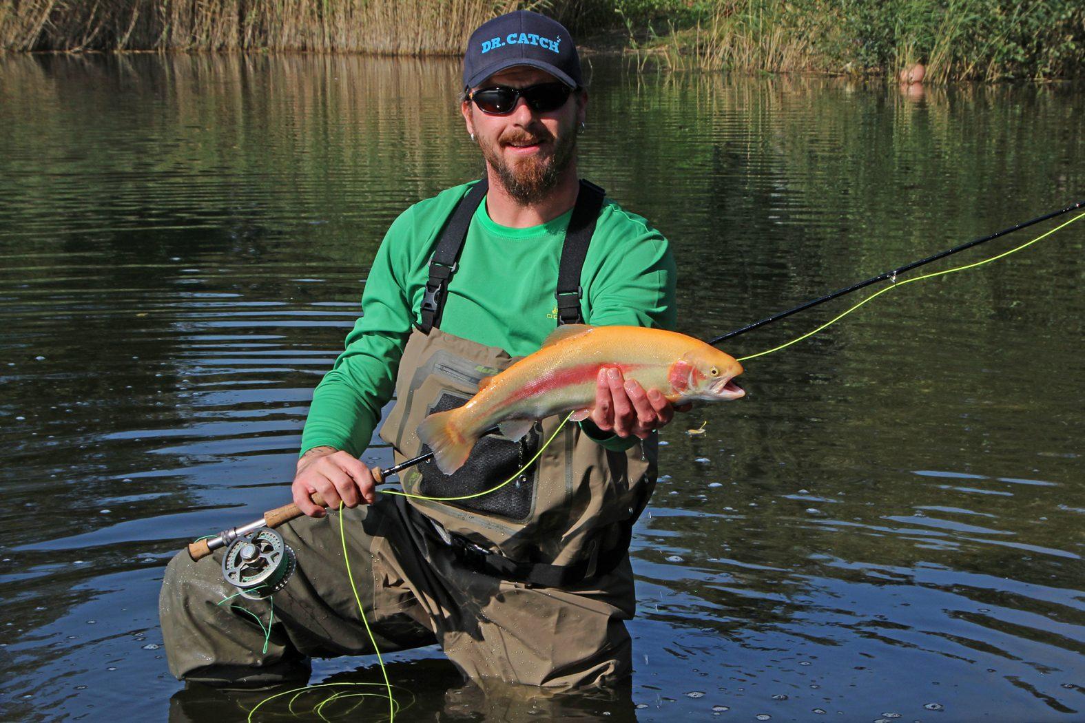 Wathose zum Fliegenfischen