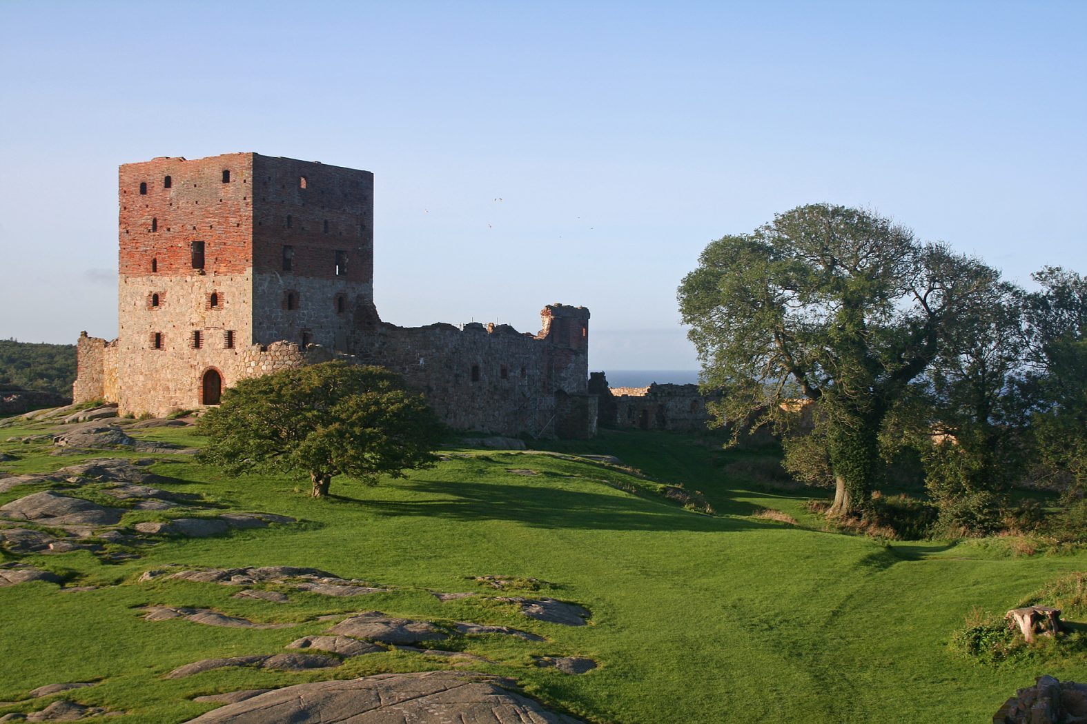 Festung Hammershus auf Bornholm