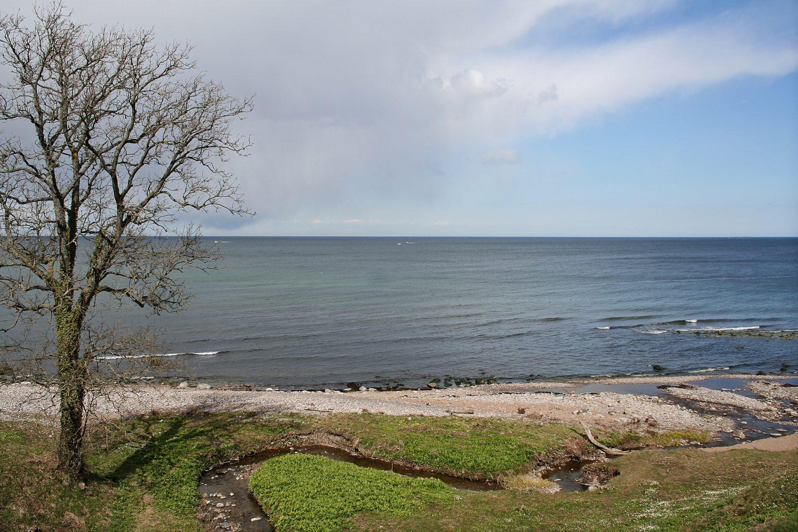 Meerforellen-Platz Døndalen auf Bornholm