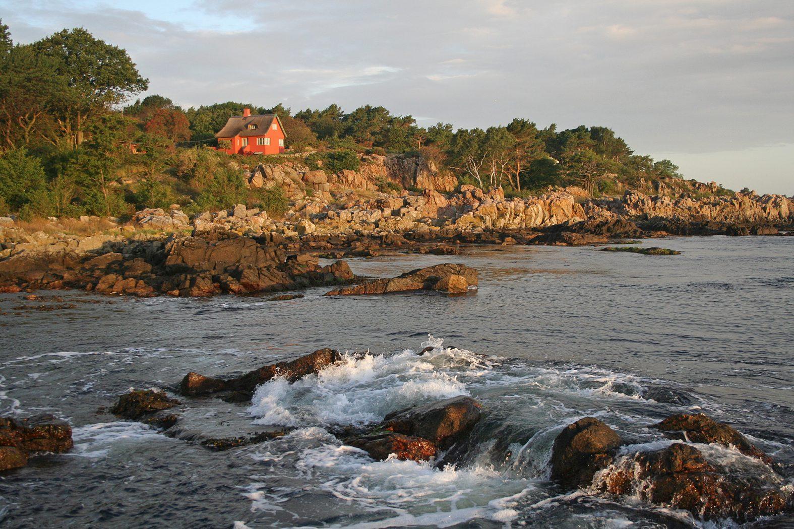Angelplätze an der Nordküste von Bornholm
