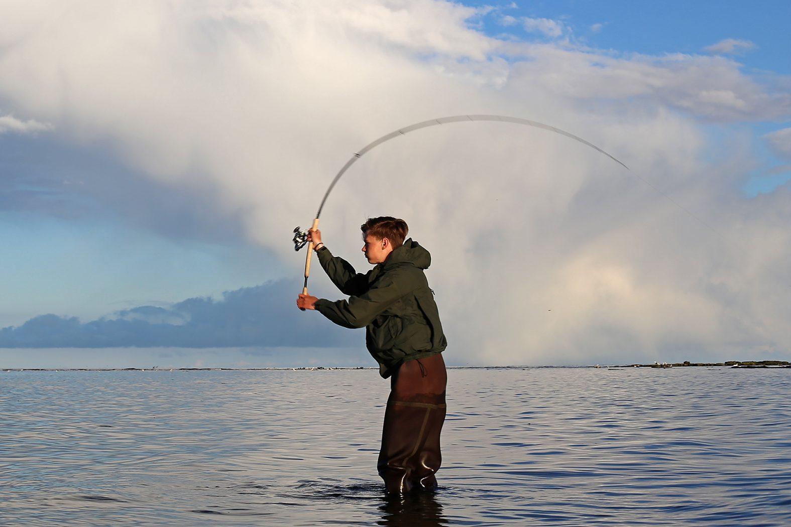 Meerforellen angeln auf Bornholm