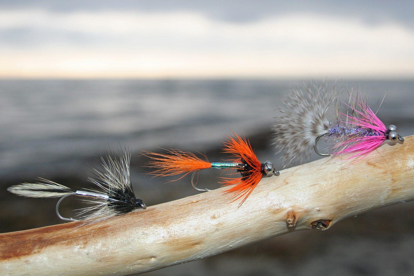 Die besten Meerforellenfliegen auf Bornholm