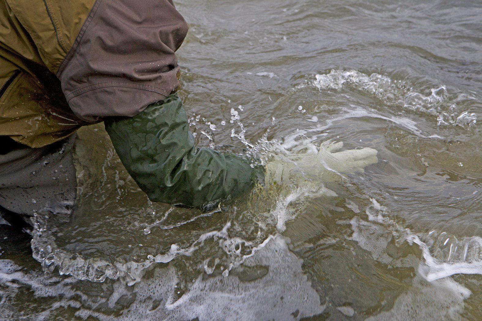 Angler Handschuhe wasserdicht