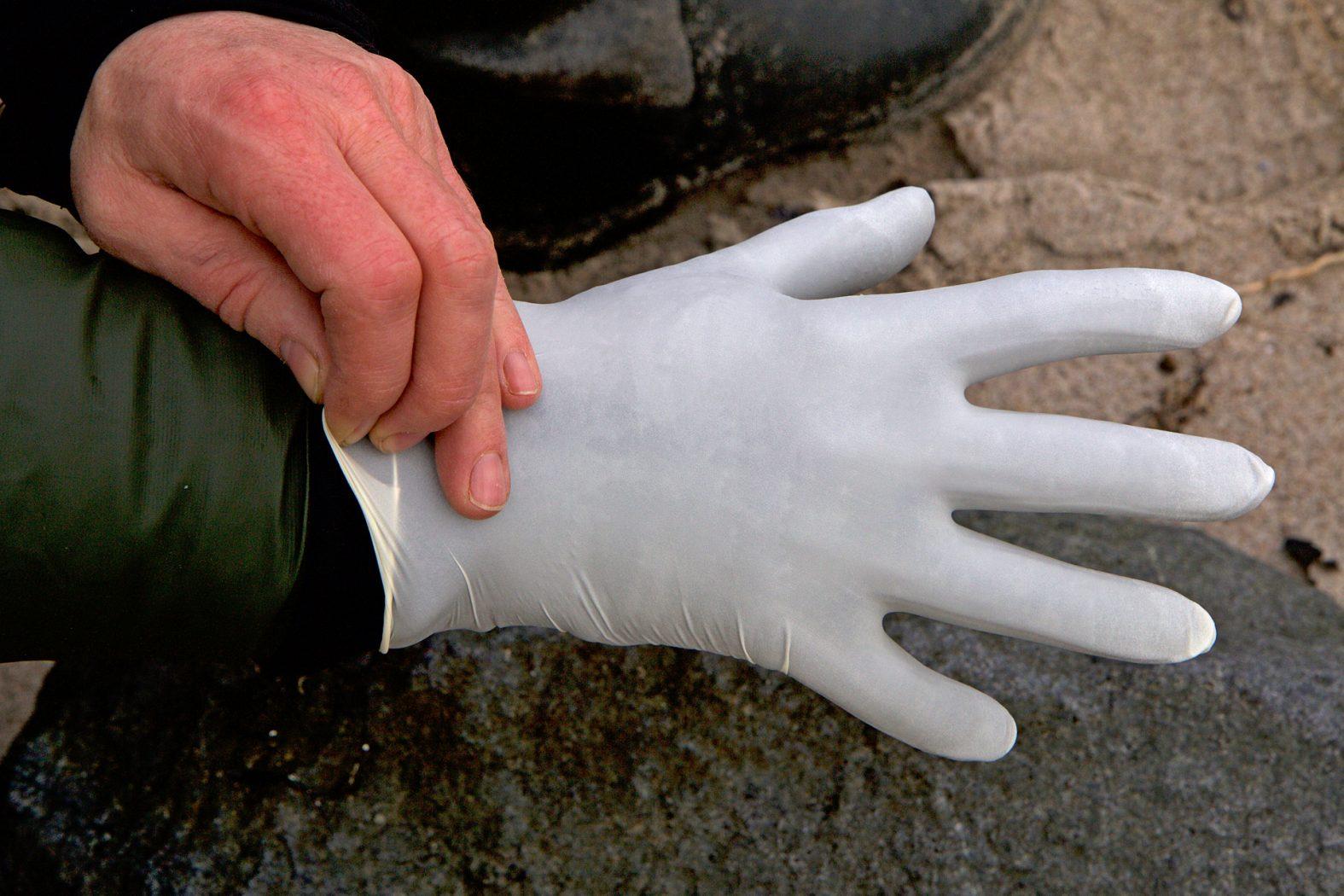 wasserdichte Handschuhe für Angler