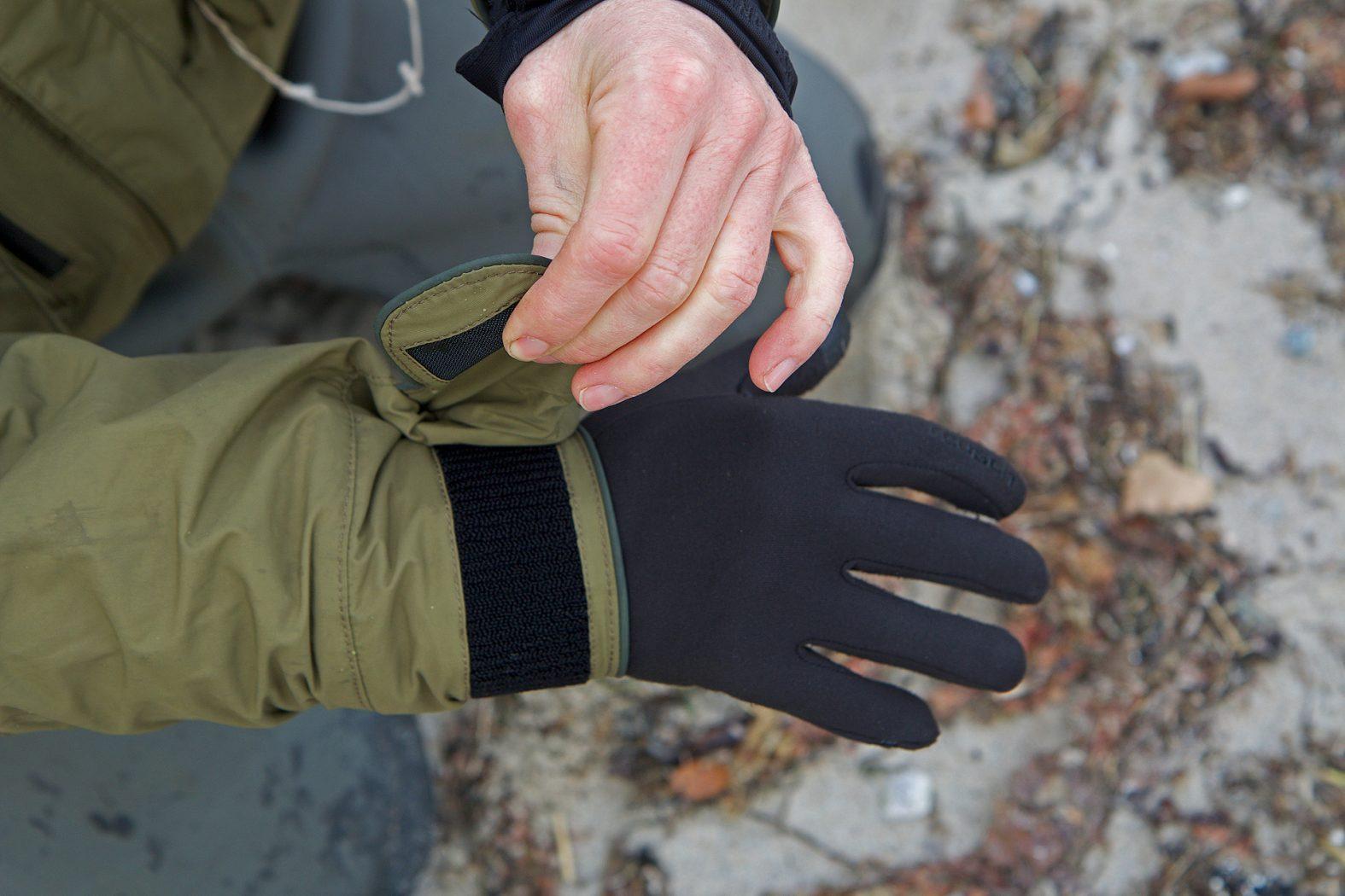 Handschuhe für Angler