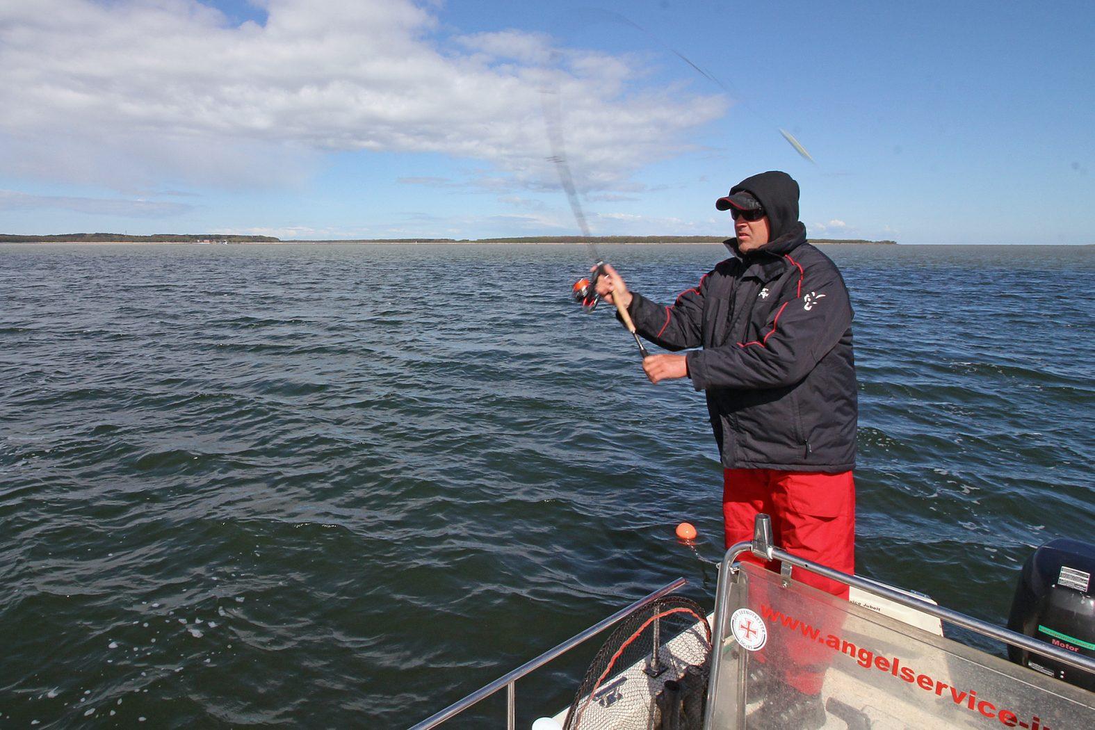 Hecht angeln auf Rügen