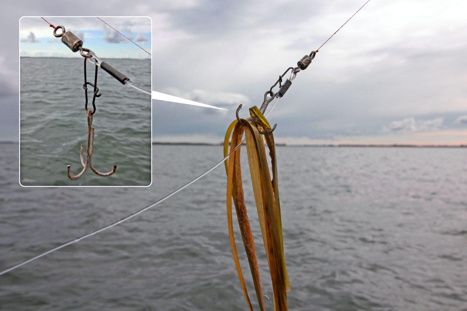 Tipps zum Hecht angeln: Krautschutz selber bauen