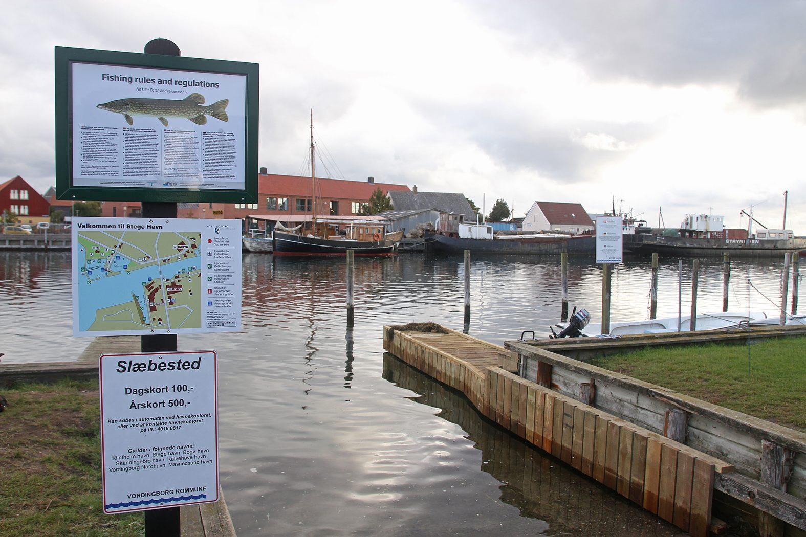 Regeln zum Hechtangeln in Dänemark