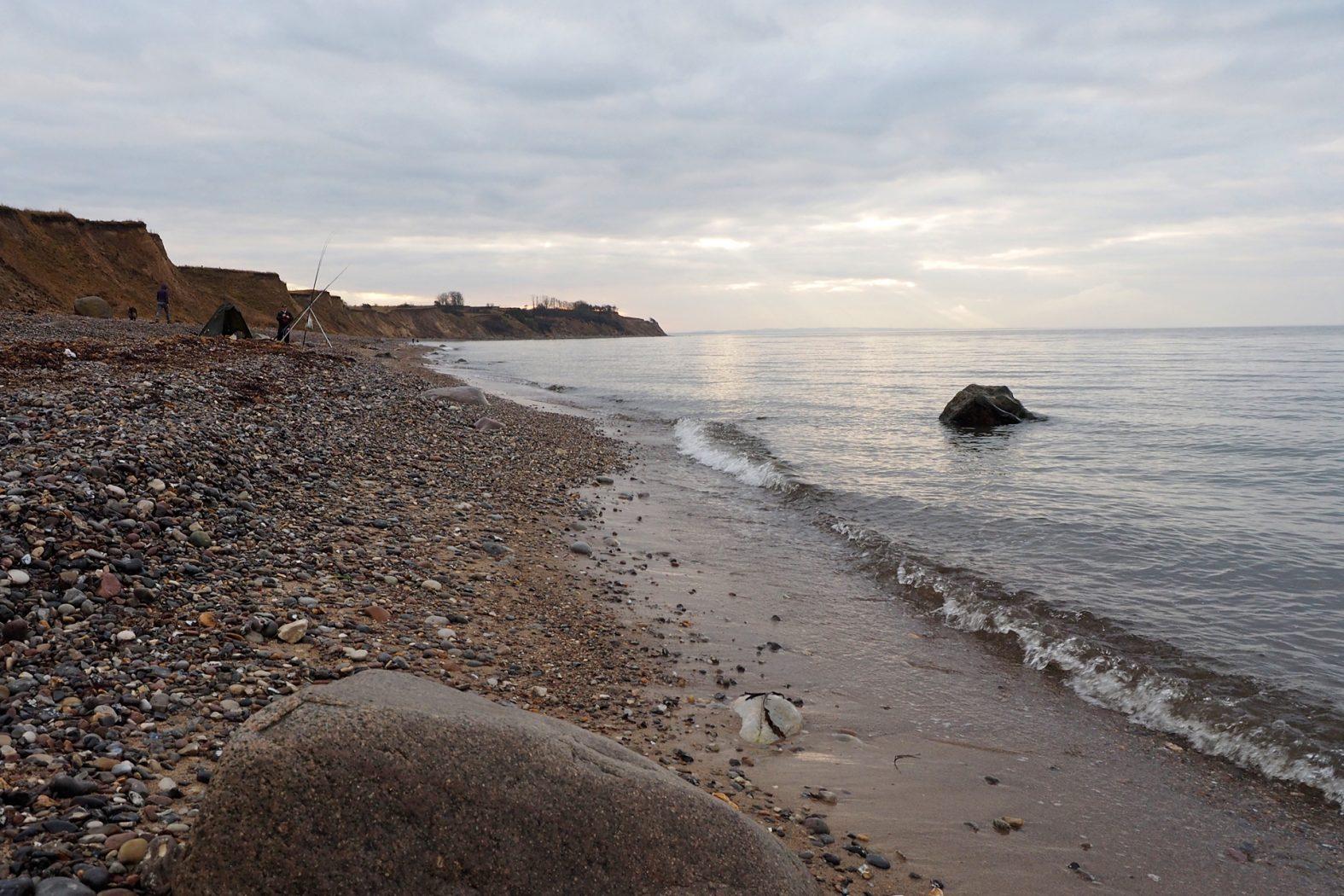 Angelplätze zum Brandungsangeln an der Ostsee