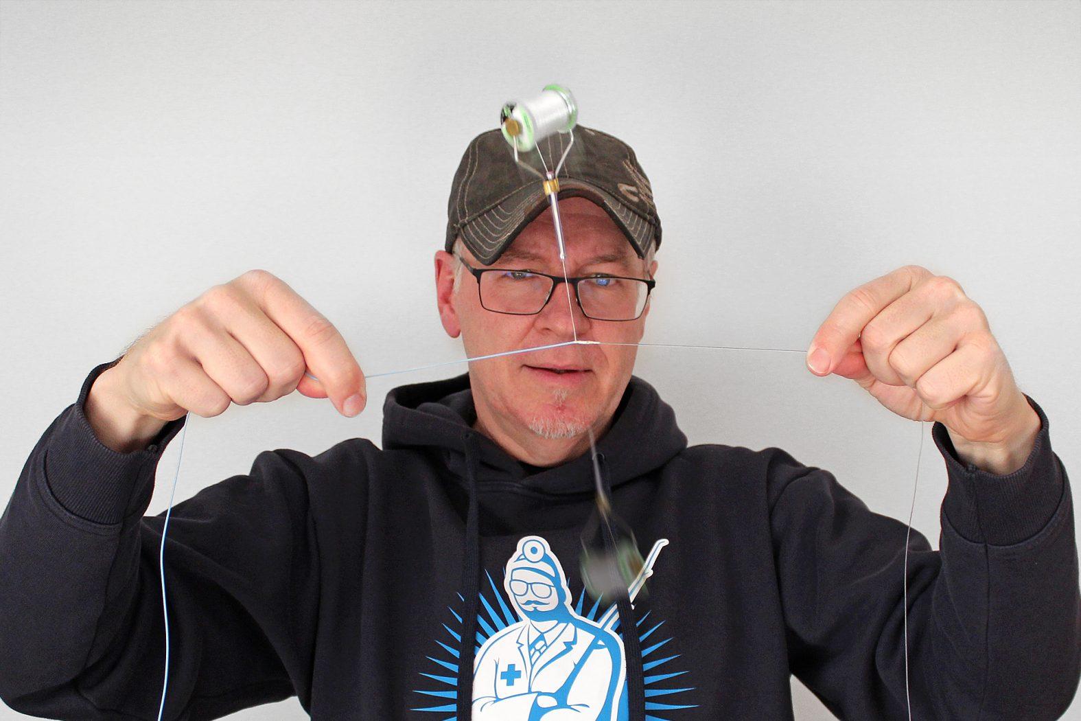 Anleitung Fliegenschnur mit Vorfach verbinden
