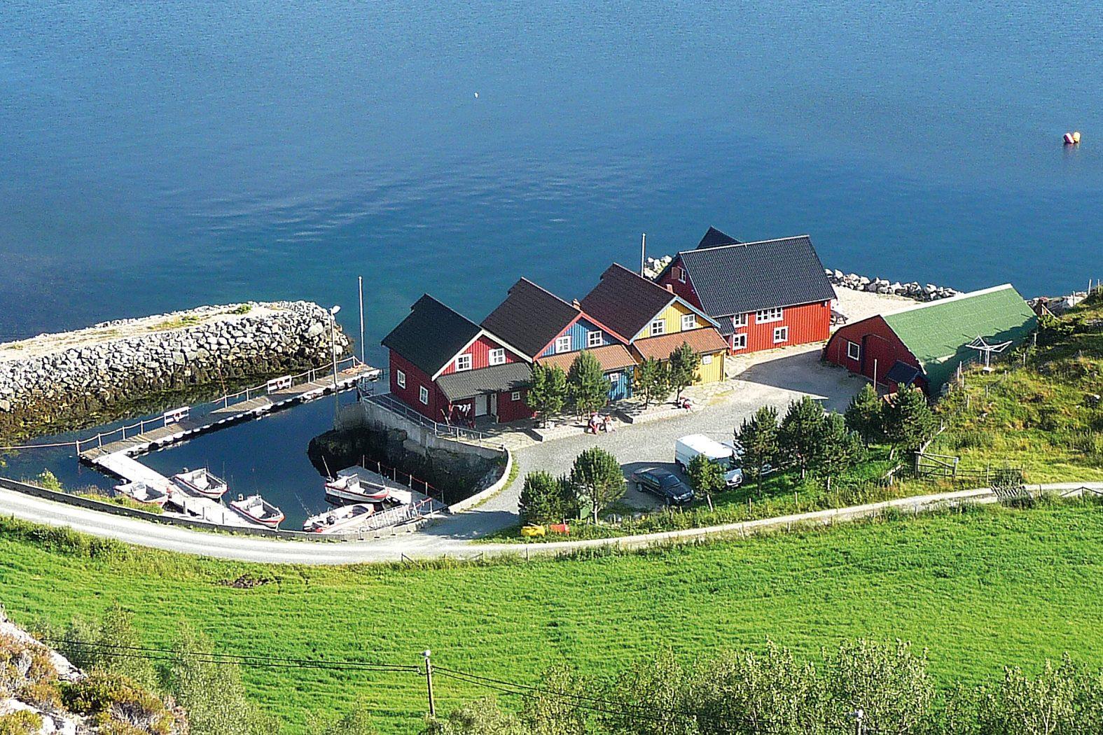 Ferienhaus auf Hitra in Norwegen