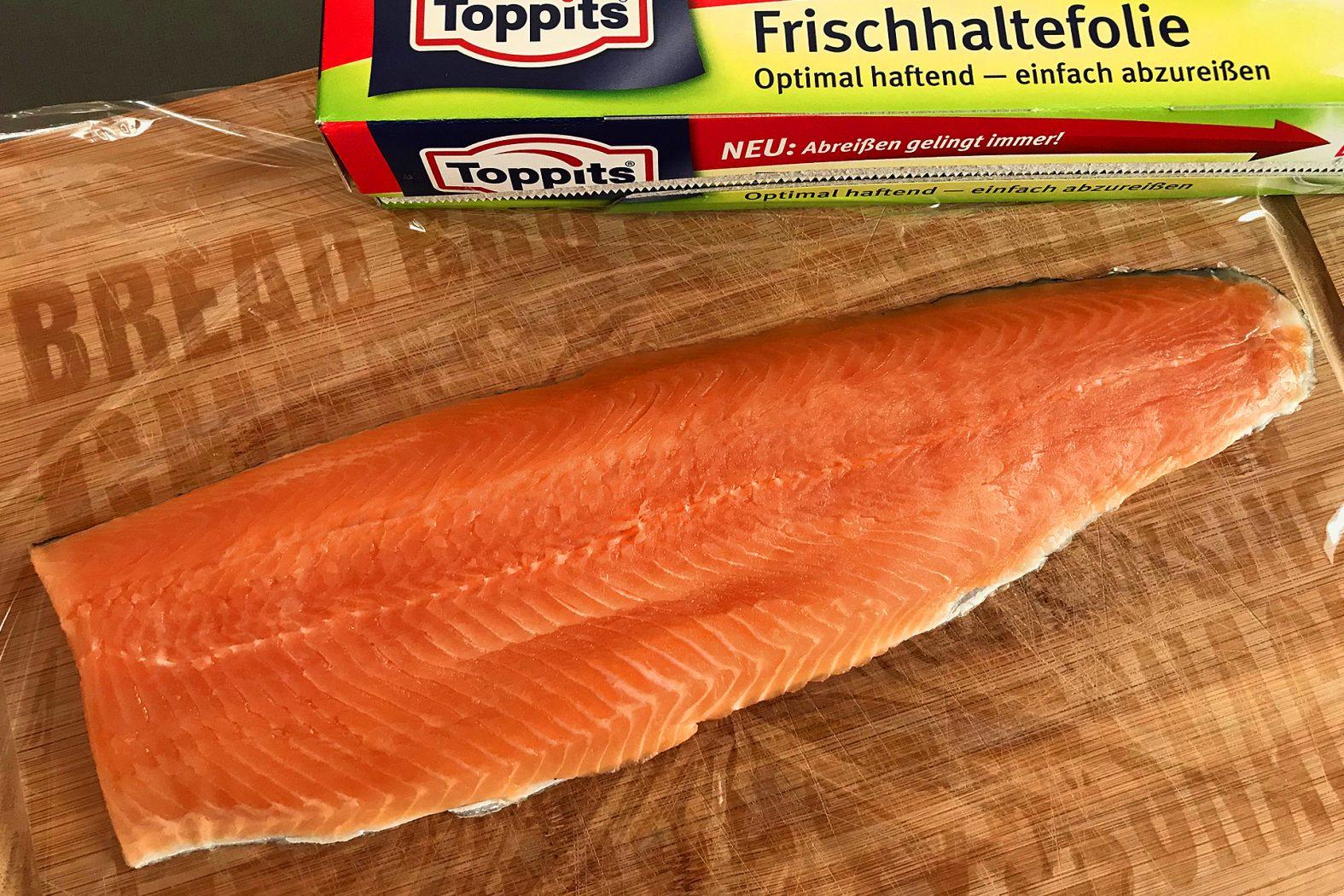 Gebeizten Fisch selber herstellen