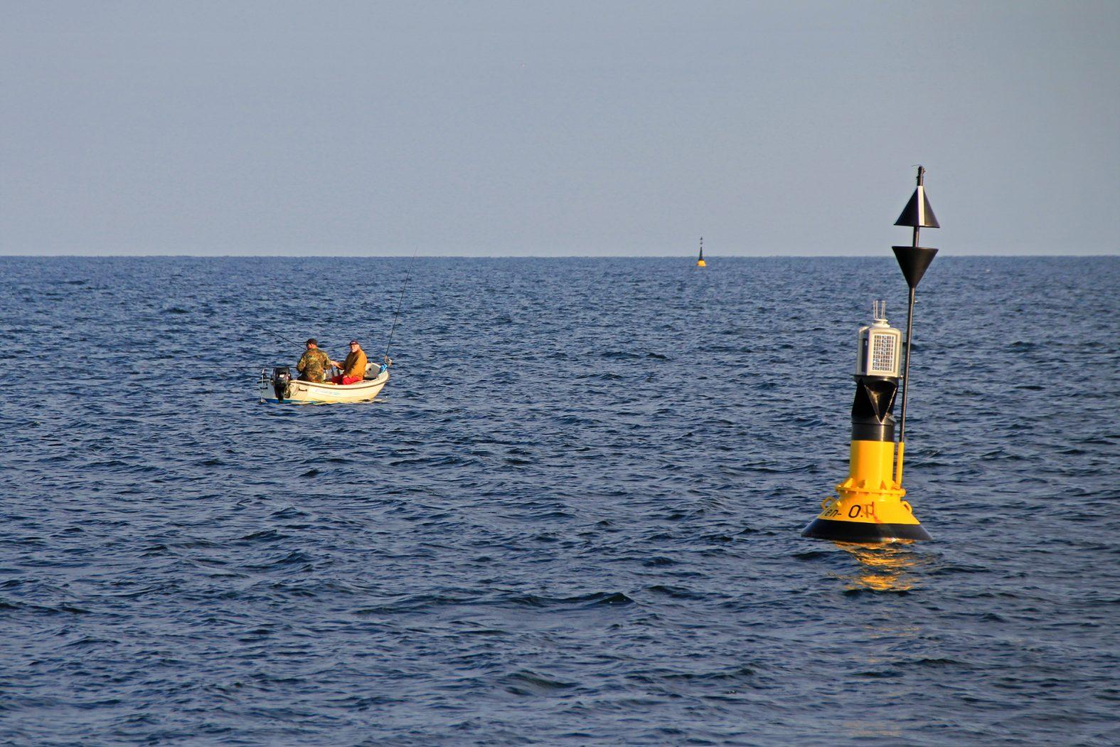 Hochseeangeln vom Kleinboot auf Fehmarn