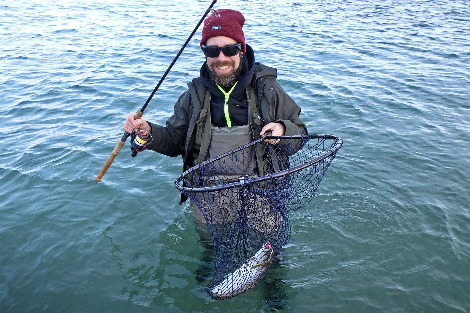 Beste Fangzeit für Meerforelle