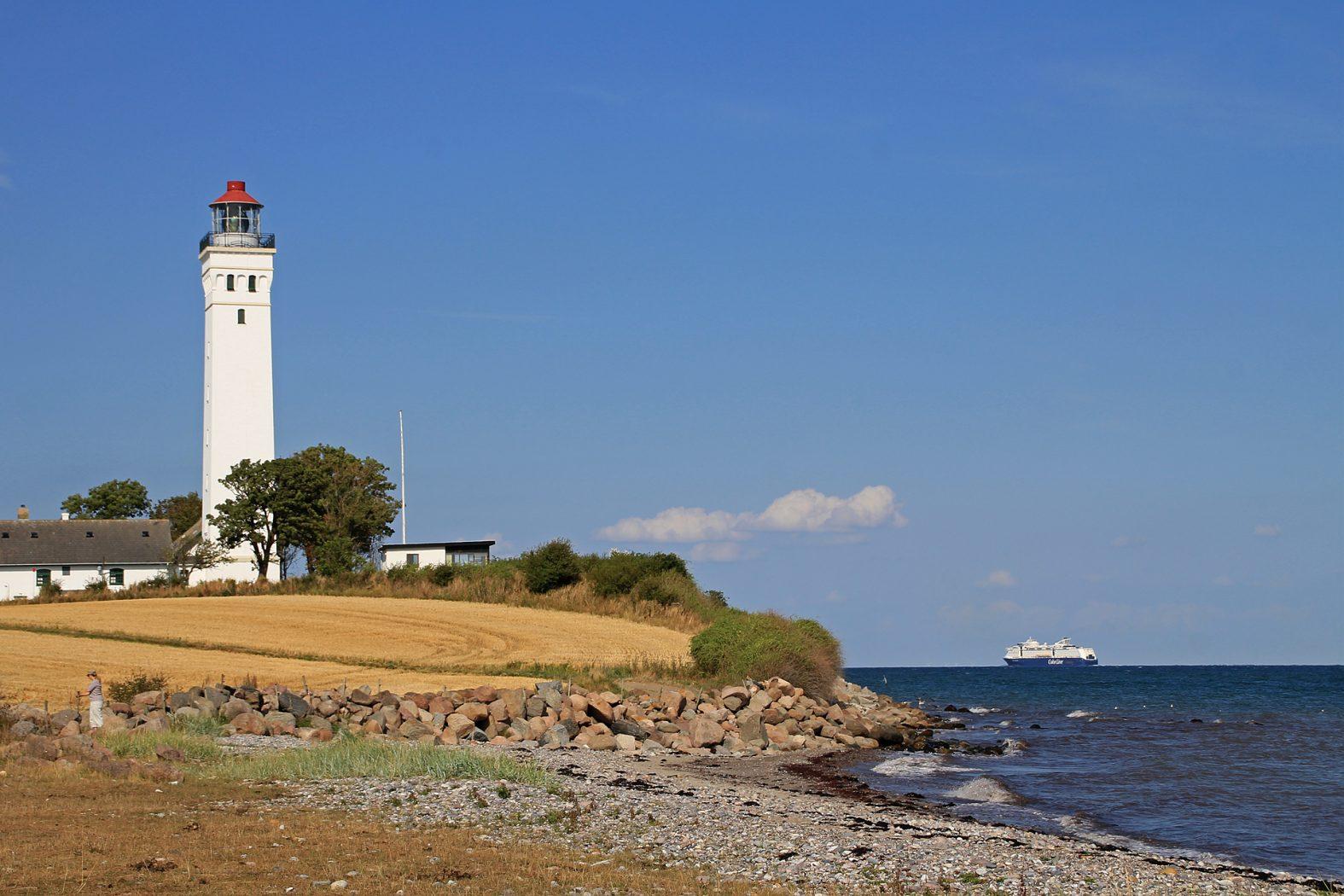 Angeln an der Ostsee in Dänemark
