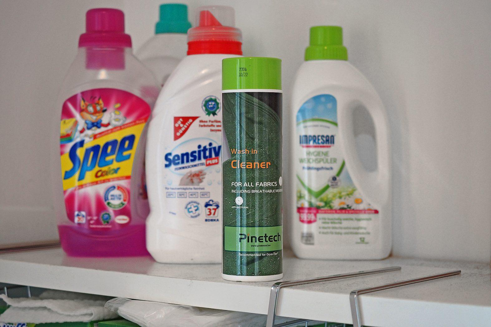 Waschmittel für Funktionskleidung