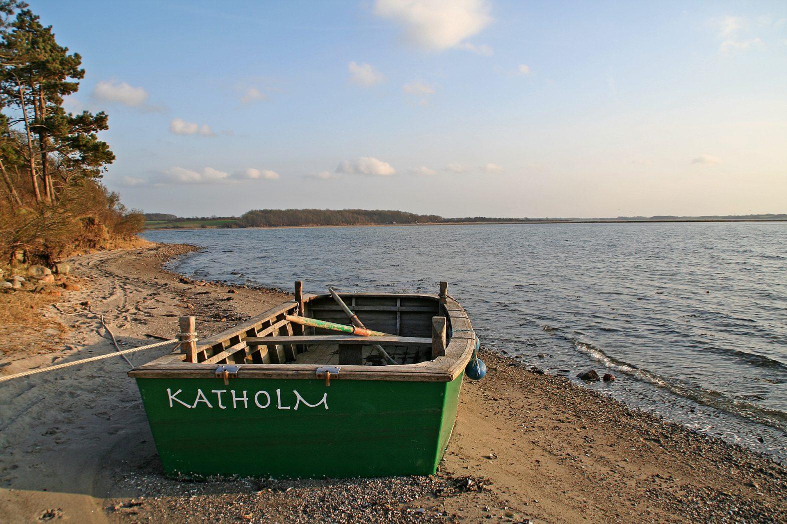 Angeln auf Insel Als bei Katholm
