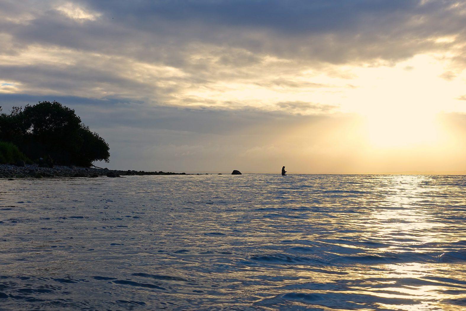 Angeln auf der Insel Barsø