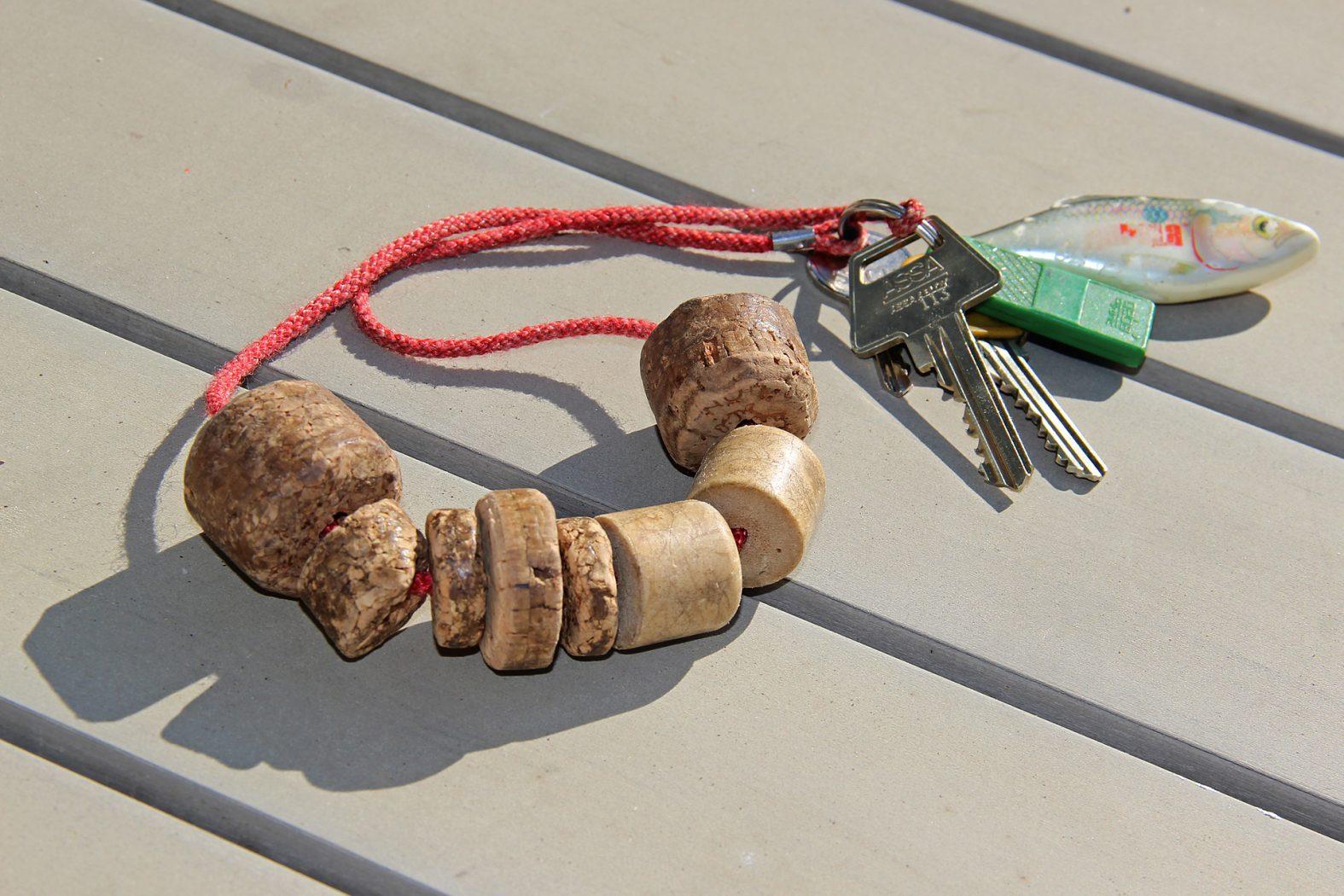Schwimmender Schlüsselanhänger