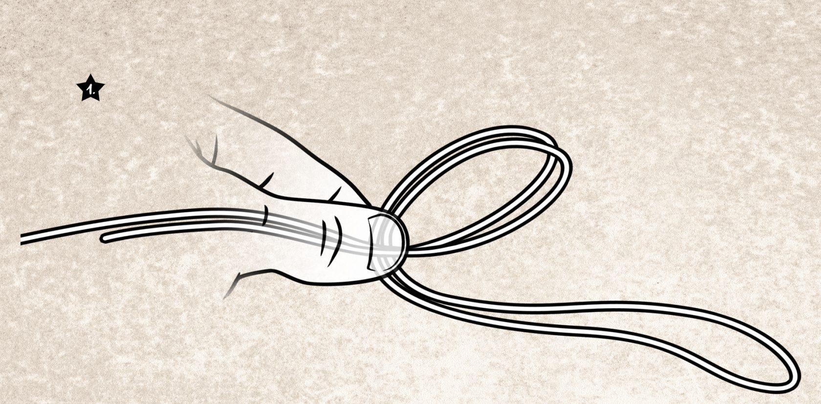 Bindeanleitung Spider-Hitch-Knoten