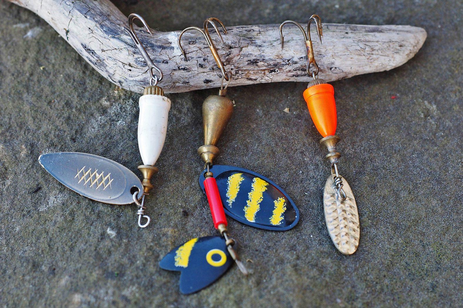 Zander angeln mit Spinner