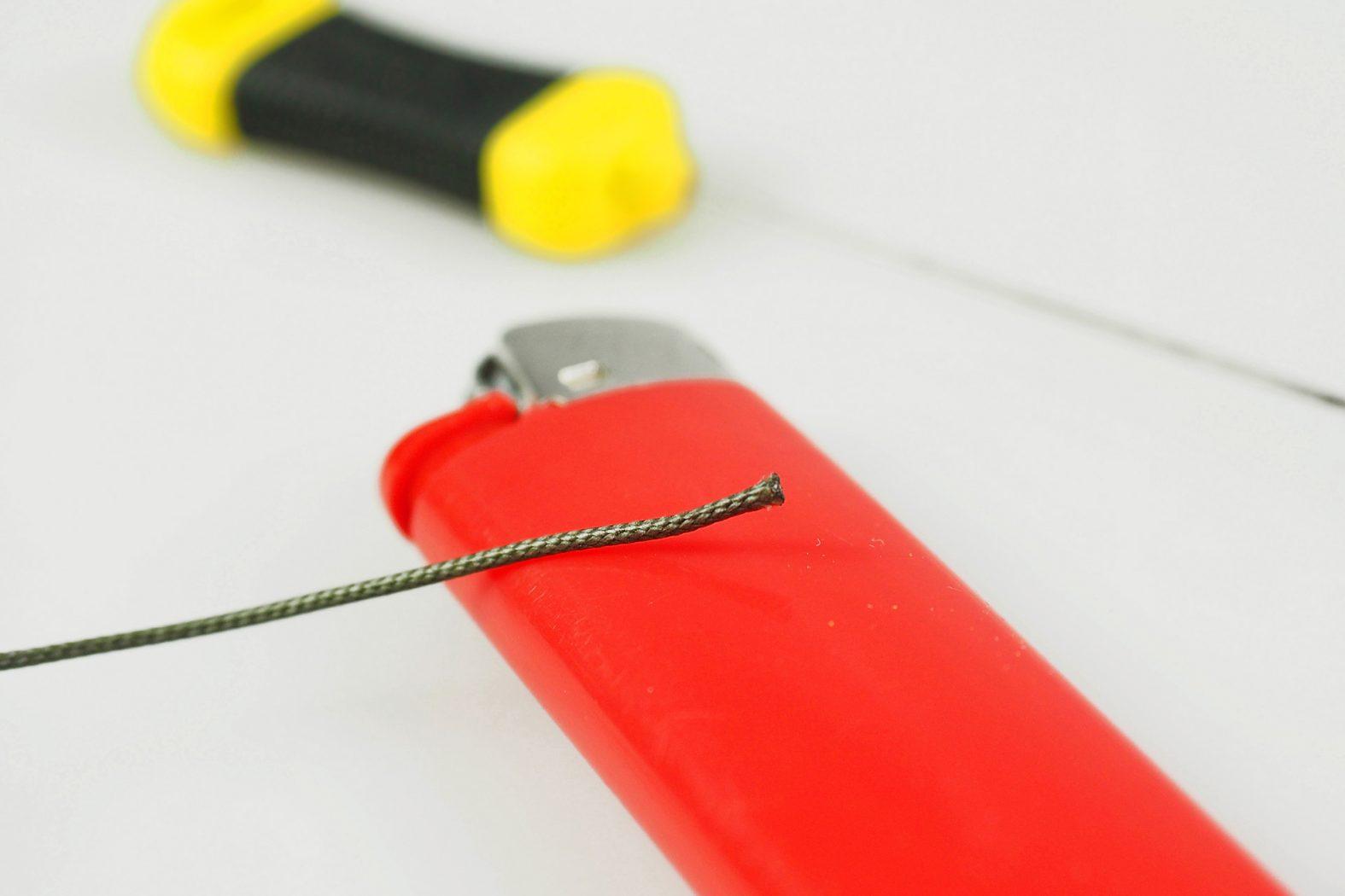 Leadcore an Hauptschnur befestigen