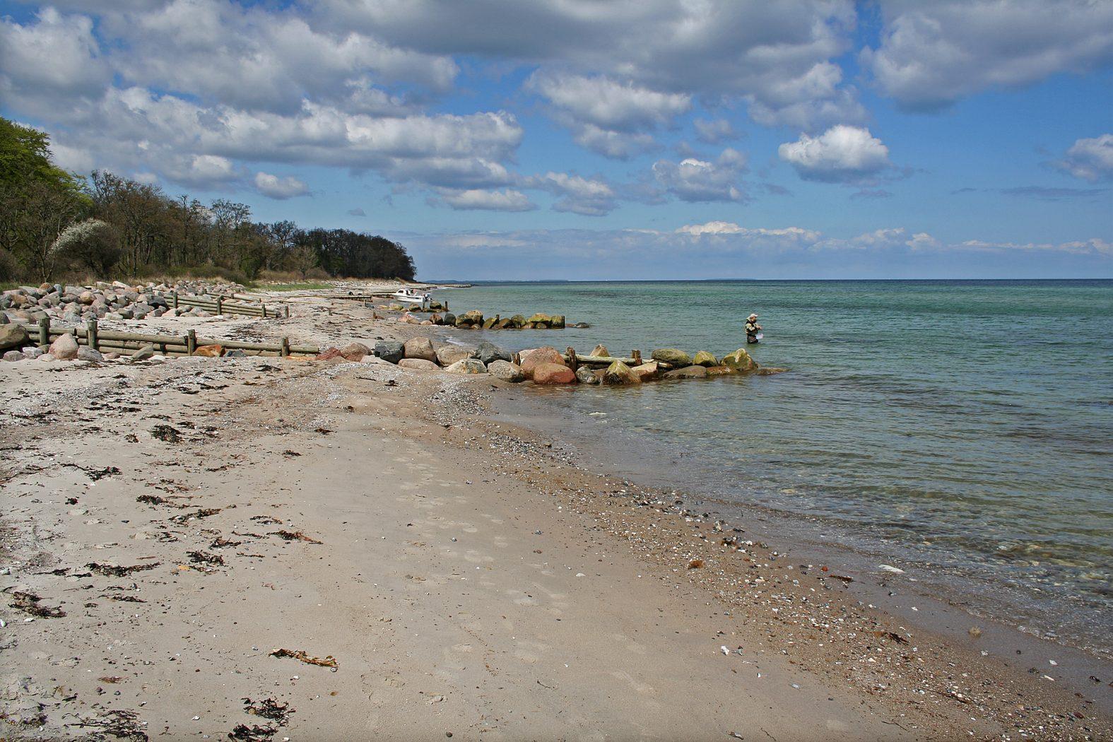 Angelplätze auf Fünen an der Ostküste