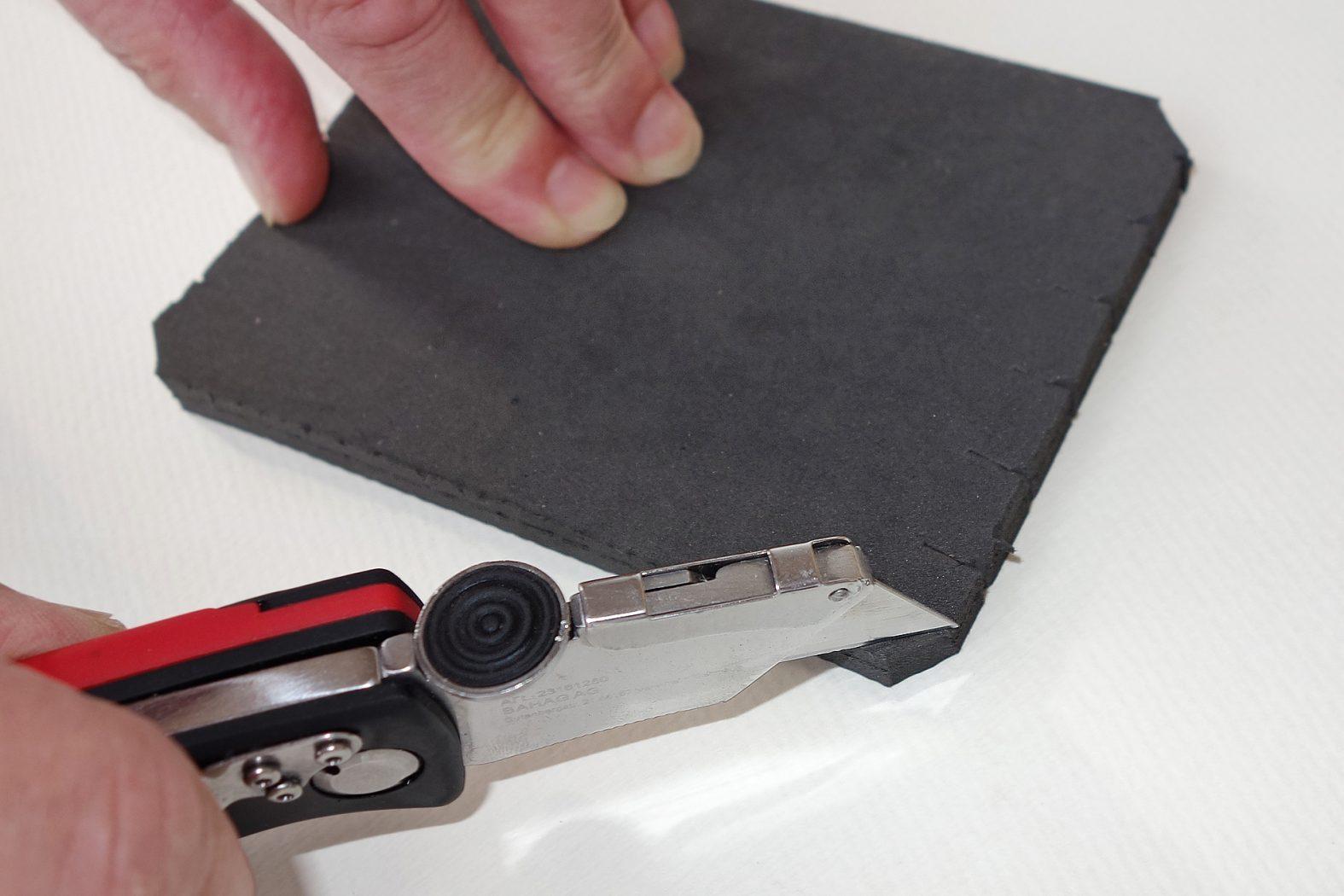 Schaumstoff-Aufbewahrung für Köderboxen selber basteln