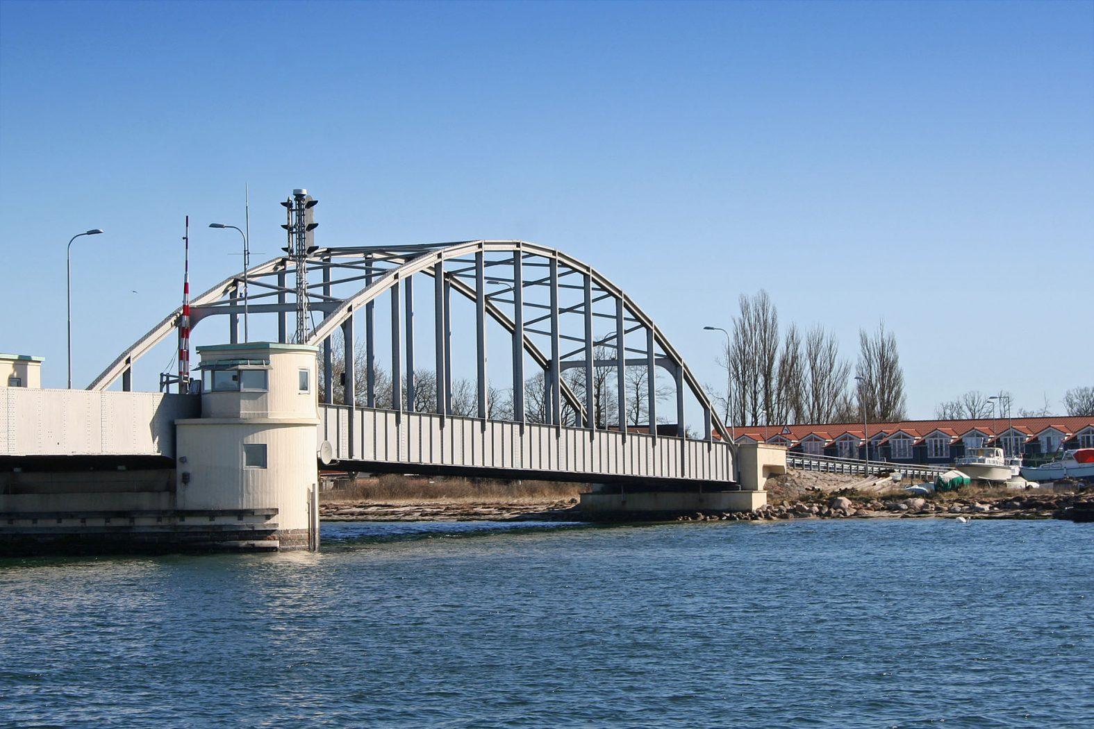 Guldborgsundbrücke zwischen Lolland und Falster