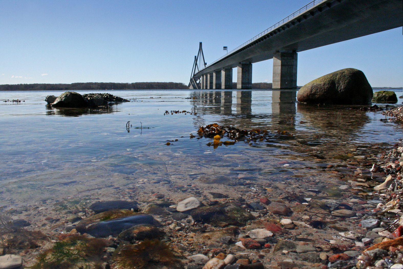 Farø-Brücke zwischen Falster und Seeland