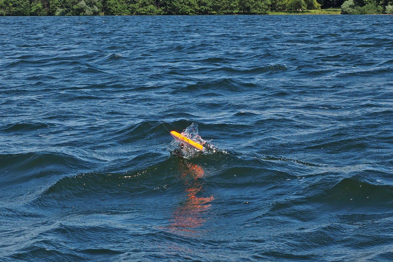 Schleppfischen mit Sideplaner