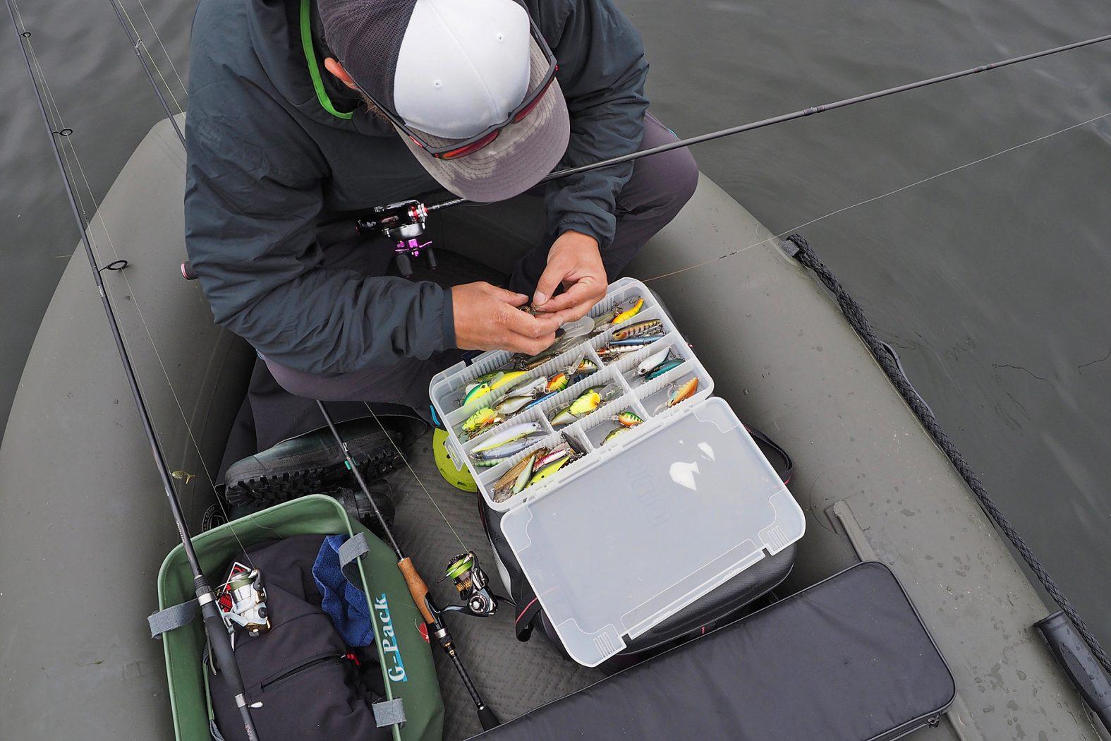Barsch angeln mit Wobbler