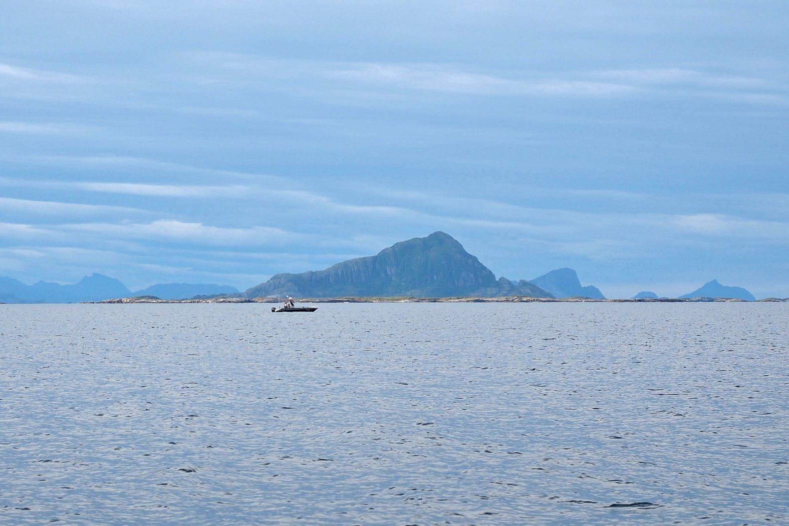 Angeln vor Meløya