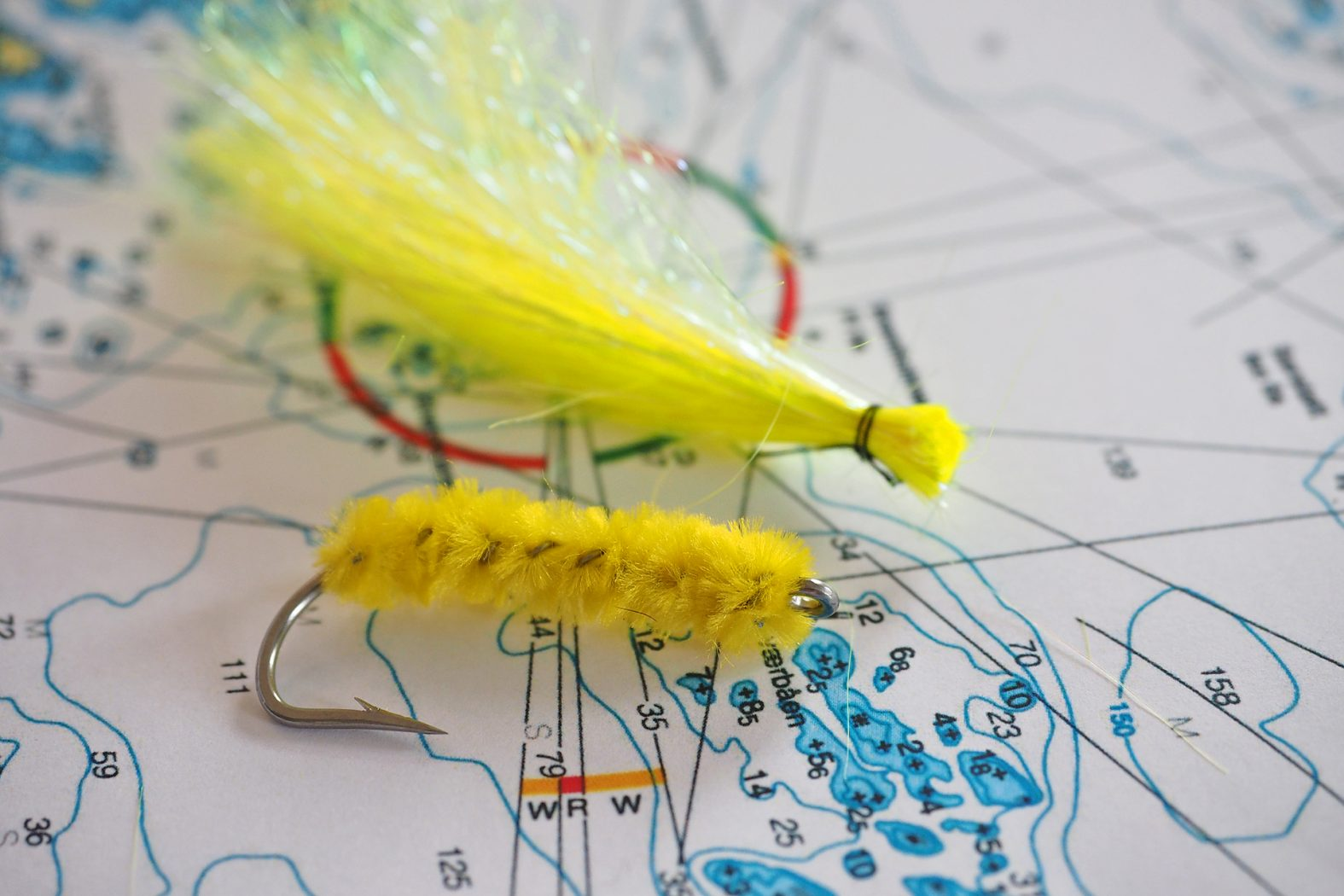 Beifänger-Fliege für Dorsch selber machen