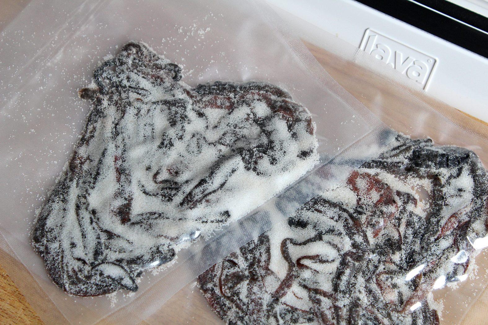 Wattwürmer einfrieren
