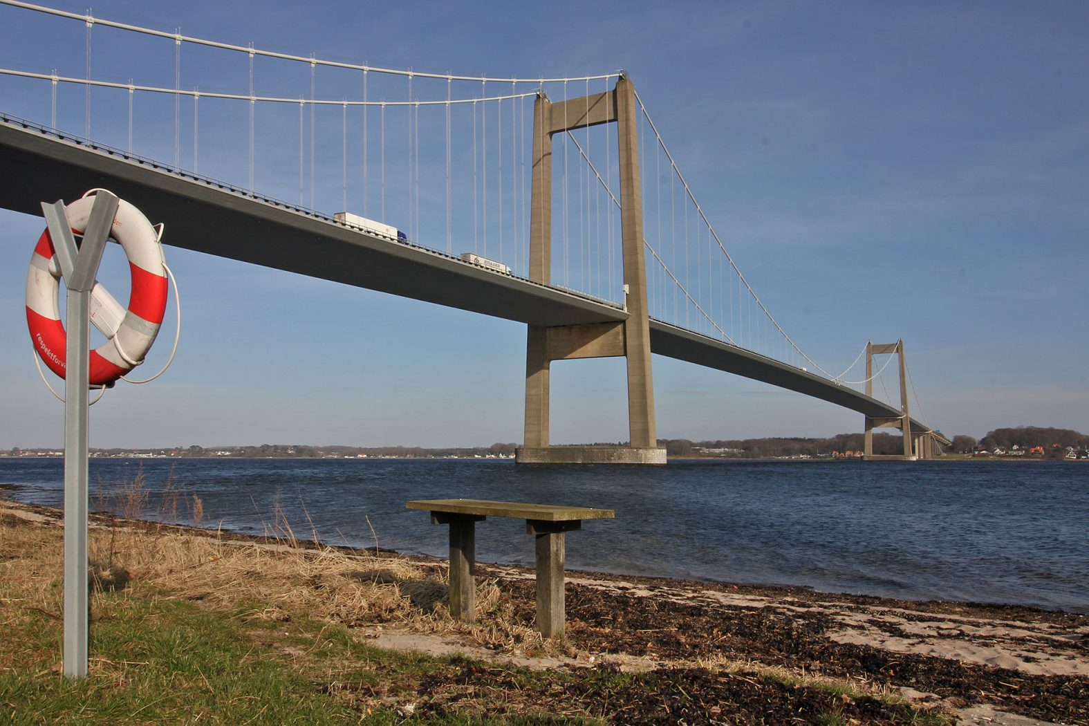 Angeln an Kleine Belt-Brücke