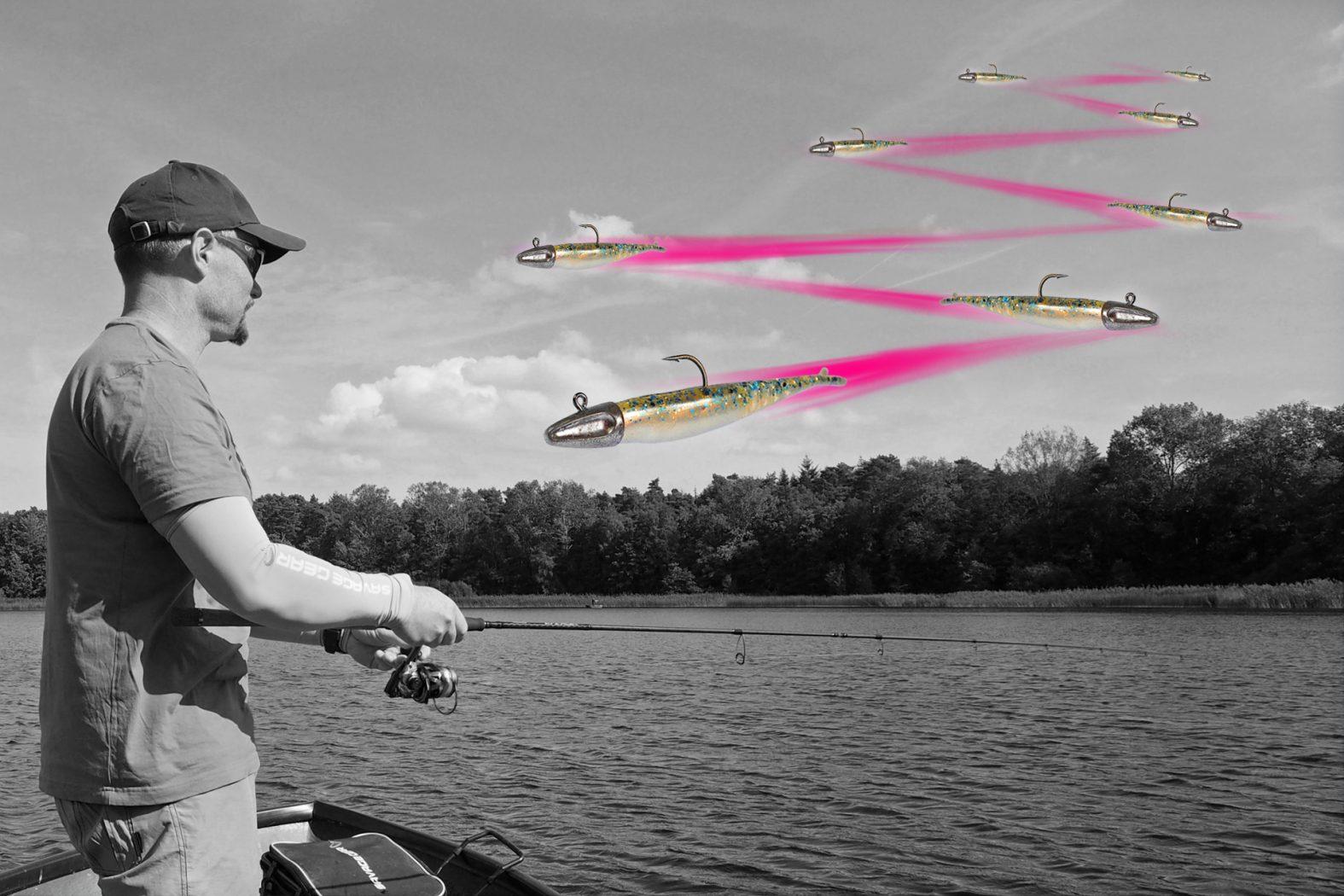 Barsch angeln mit Low Action Shad