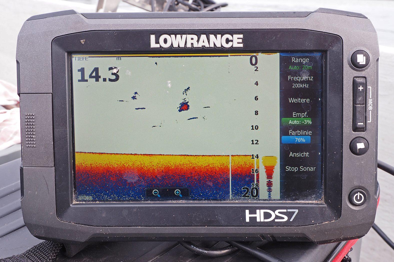 Hechte angeln in großen Seen