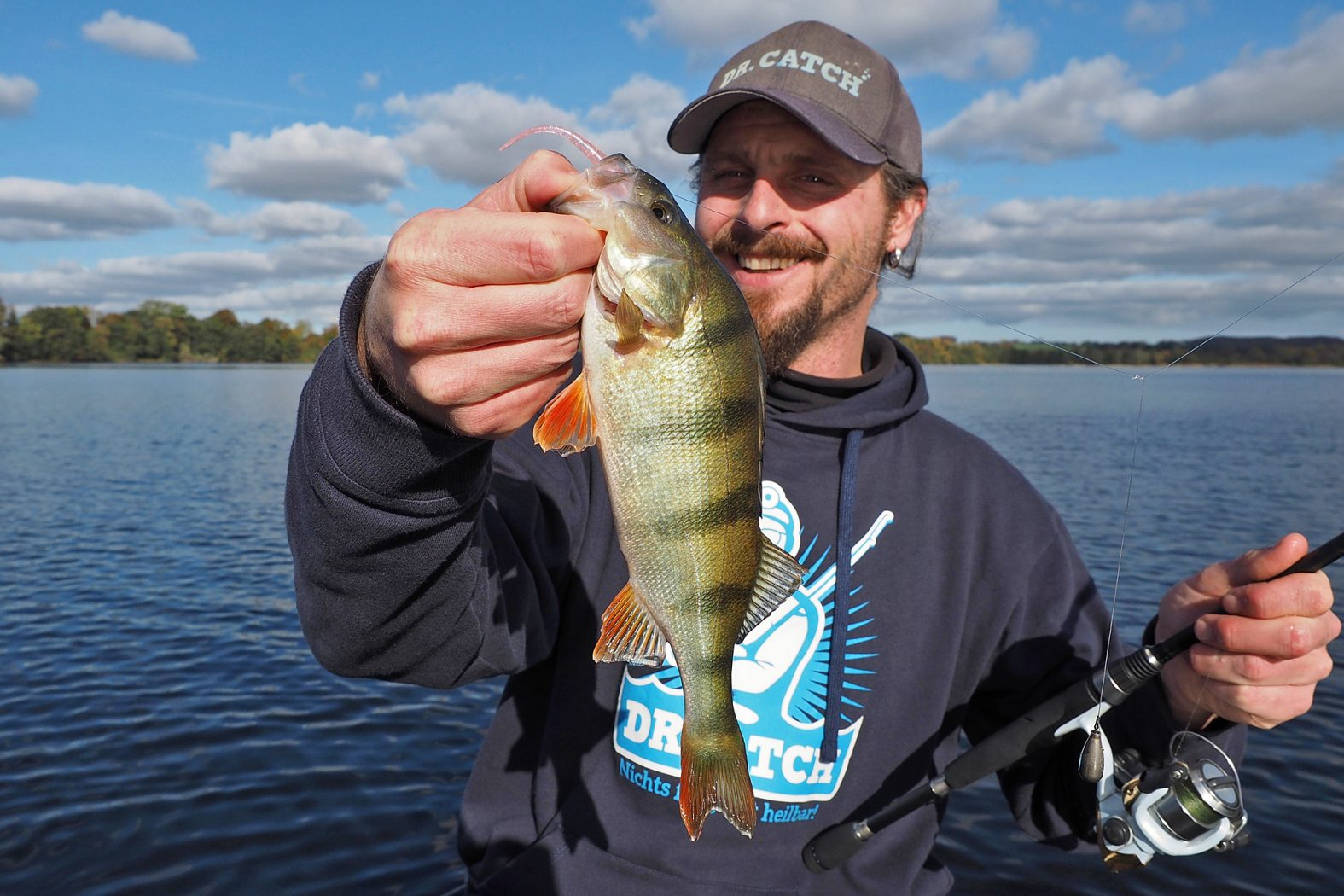 Mit Kickback Rig auf Barsch angeln