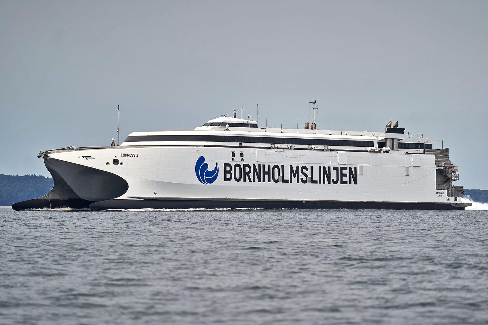 Mit der Fähre nach Bornholm