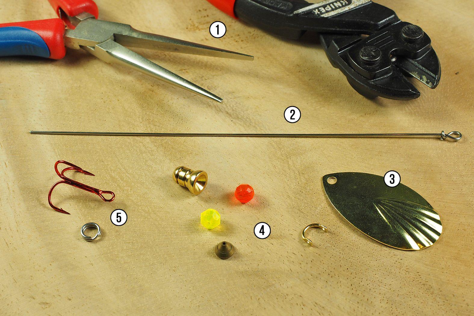 Spinner selber bauen zum angeln