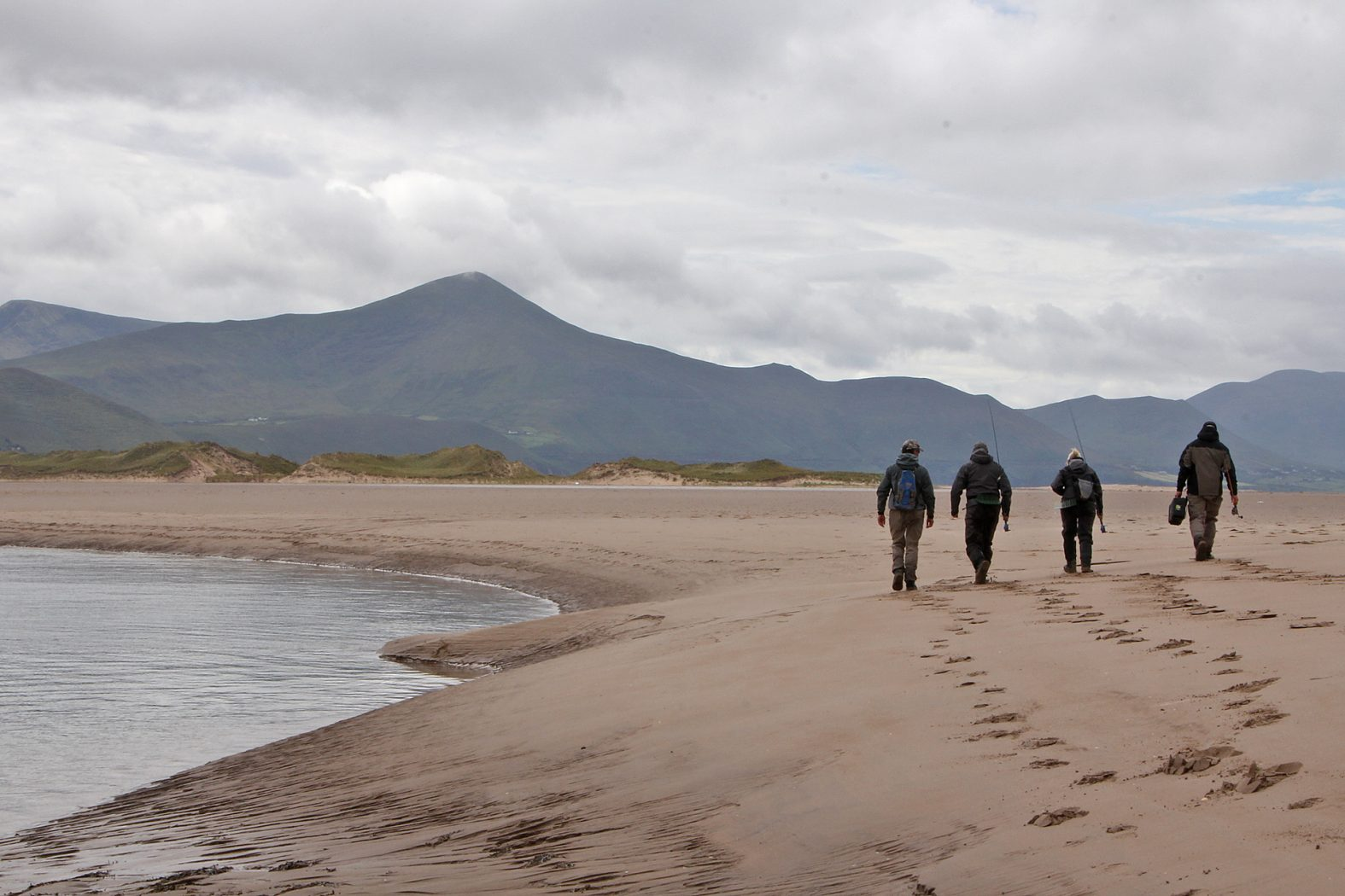 Angeln in Irland an der Küste