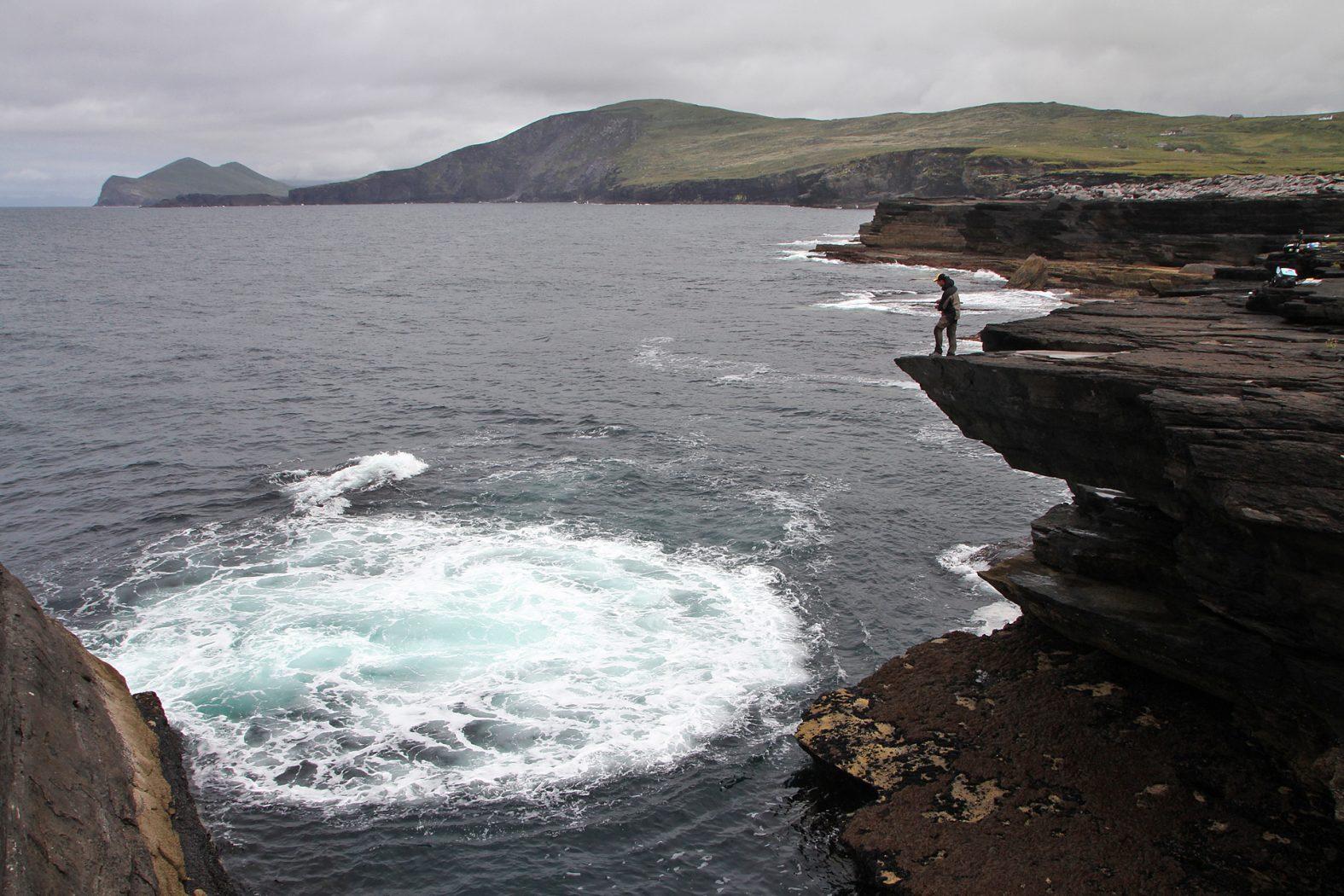 Meeresangeln in Irland auf Valentia Island