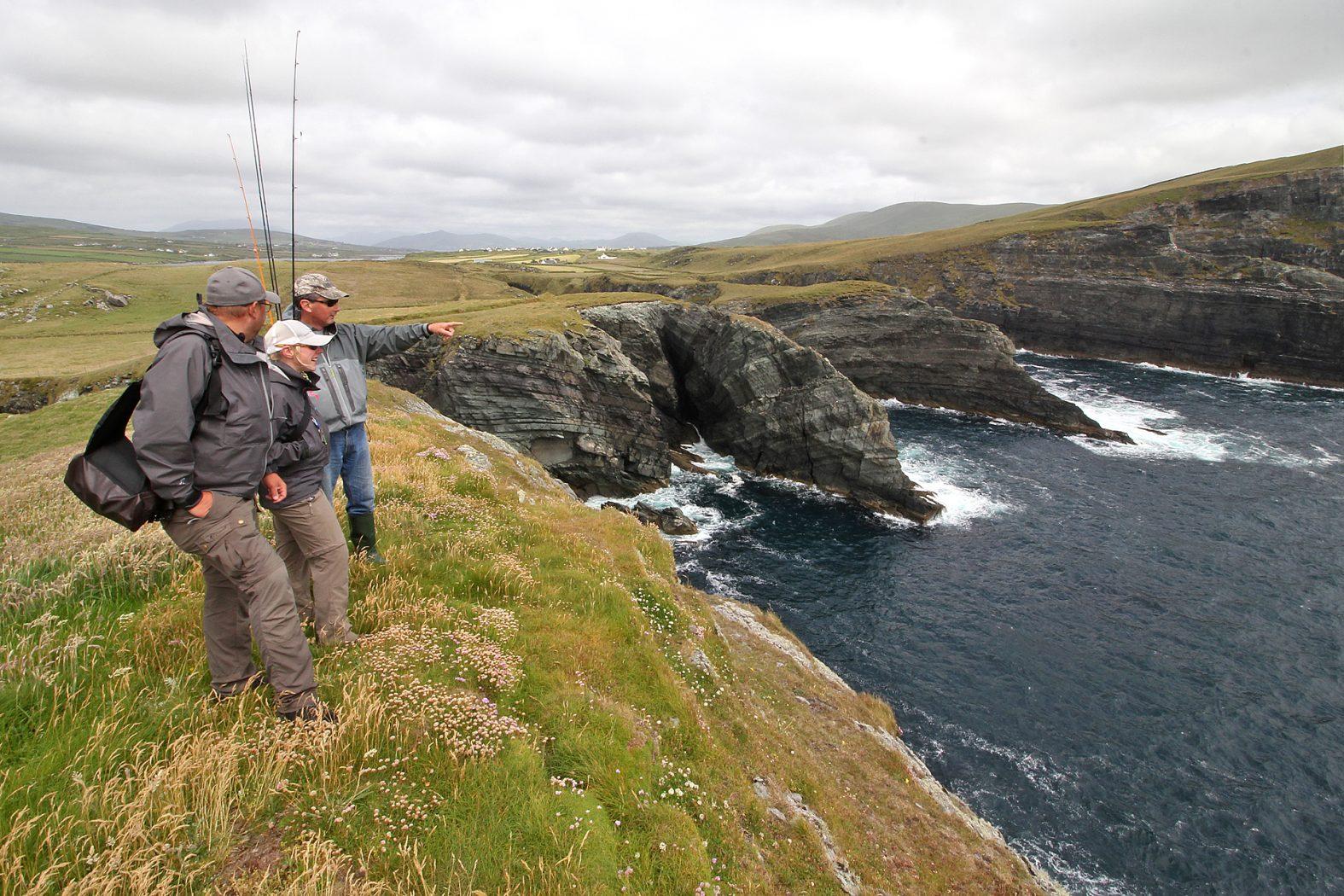 Meeresangeln in Irland