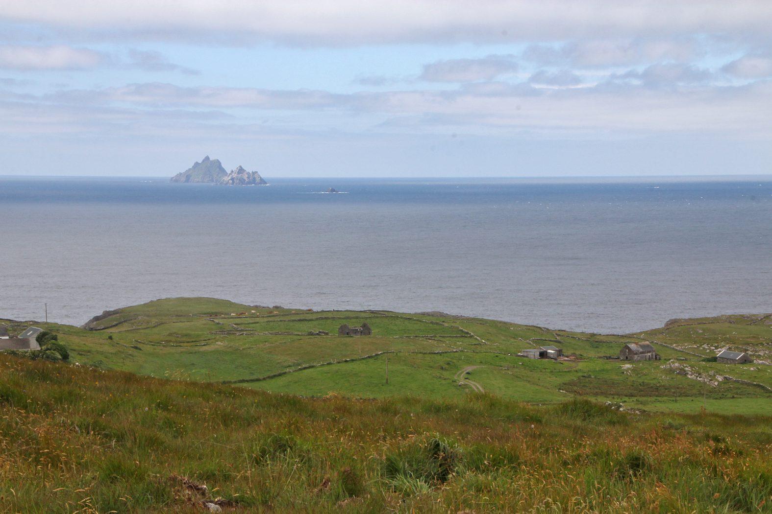 Skellig Islands in Kerry