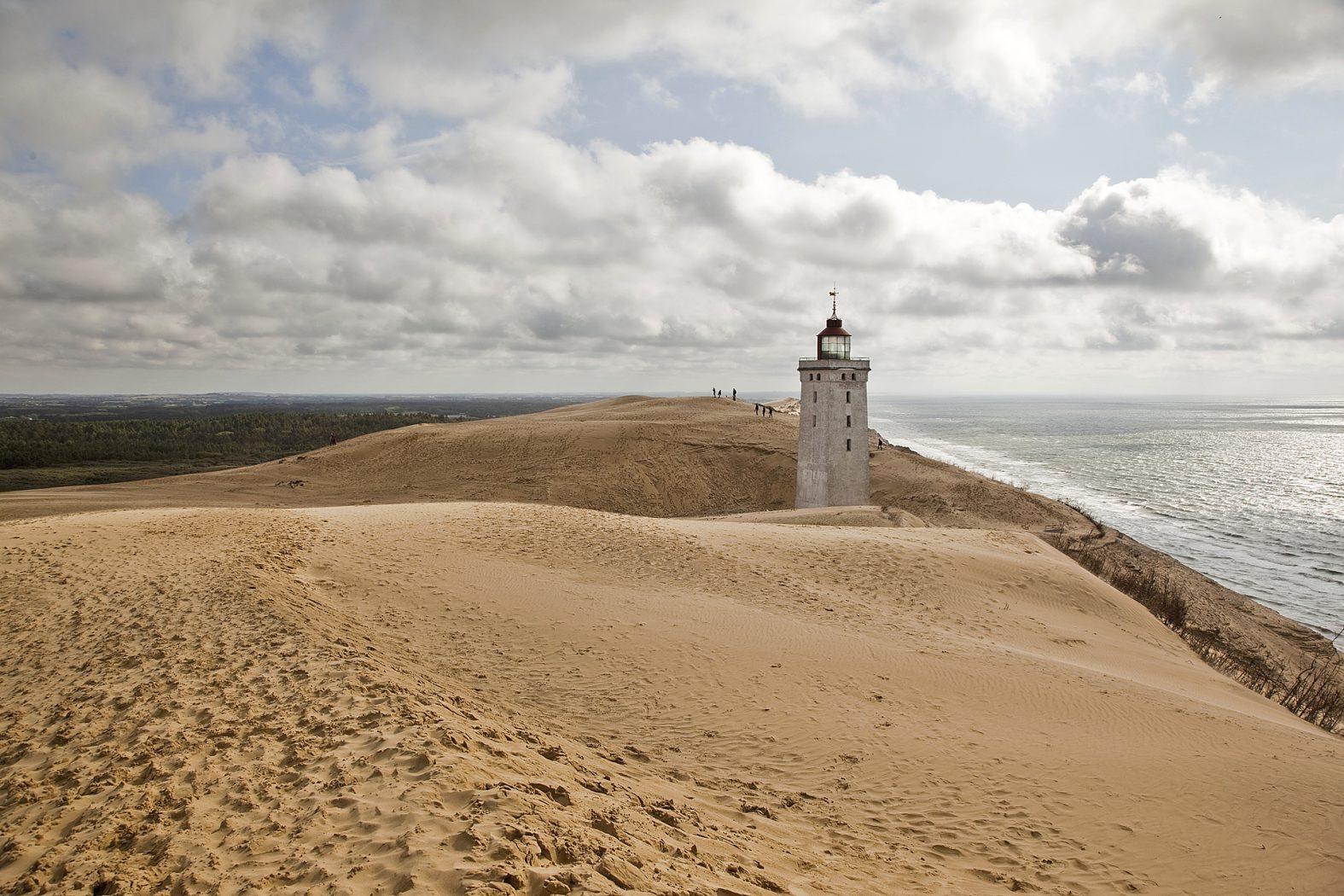 Der Leuchtturm Rubjerg Knude Fyr