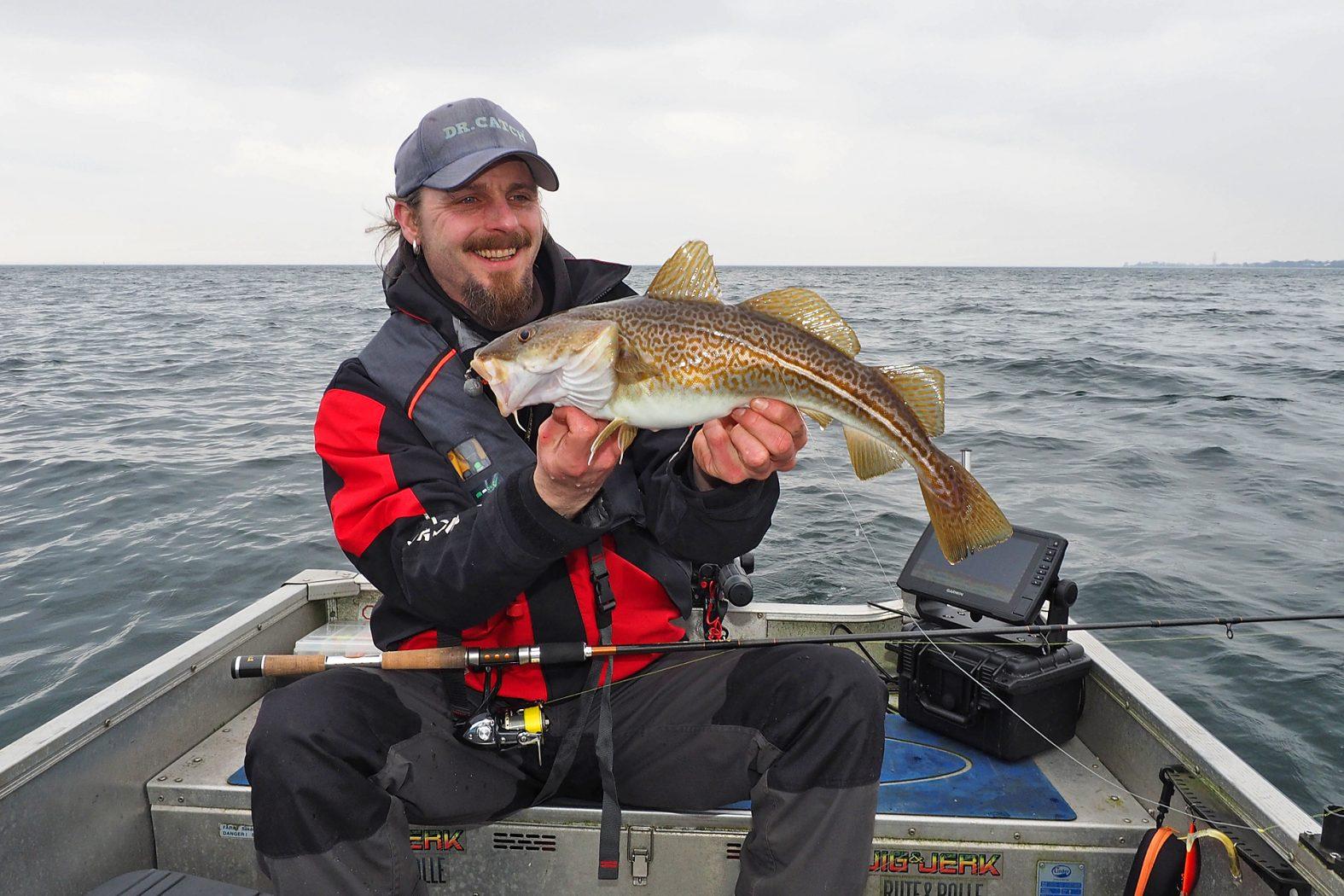 Dorsch angeln vom Boot